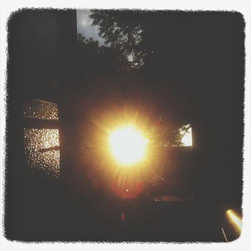 Sun Enjoy Life Good Weather ♥ Evening Sky First Eyeem Photo