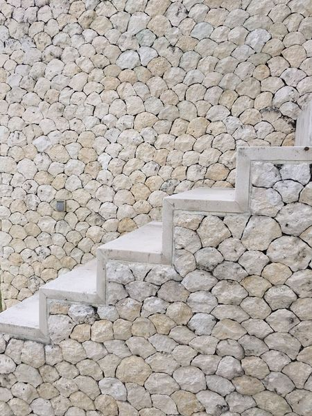 Bali wall Pebble Stone - Object Large Group Of Objects Stone Rock - Object Stone Wall Abundance Stone Material Log Day Stone - Material Stone Tile Surrounding Heap Grey No People