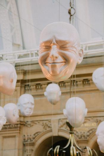 Expressions Facial Expressions Glasgow  Indoors  Kelvingrove Scotland Scrunchedface