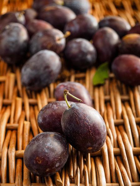 Autumn Plums Zwetschgen Close-up Fall Food Freshness Fruits Healthy Eating Organic Food