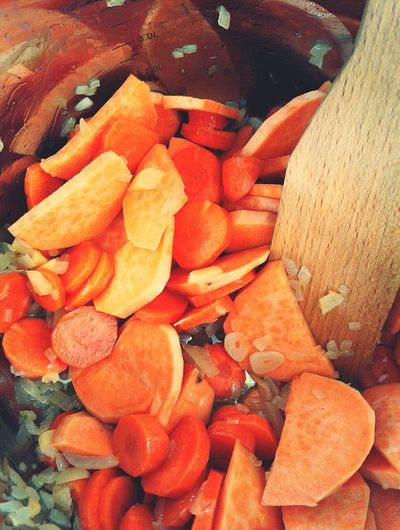 Large Group Of Objects Backgrounds Food Healthy Eating Close-up Freshness Cooking No People What A Day! Carrots Carrot Soup Batat Visual Feast
