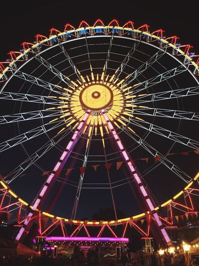Ferris Wheel EyEmNewHere Night Traveling Carnival