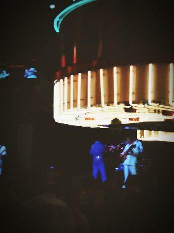 Watching elvis perform...1