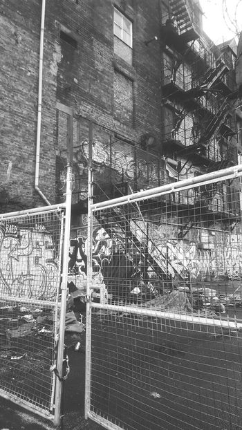 Glasgow  Abandoned Graffiti Fence Best Of Stairways Blacl And White Architecture Rotten Places Still Learn & Shoot: Simplicity Steps And Staircases ScotlandFragility EyeEm Gallery