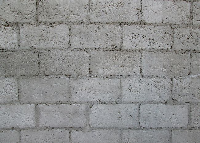Brick Wall Gray Concrete Wall Blocks ArchiTexture Background Textures And Surfaces Brick And Mortar Concrete Blocks Grungy Textures