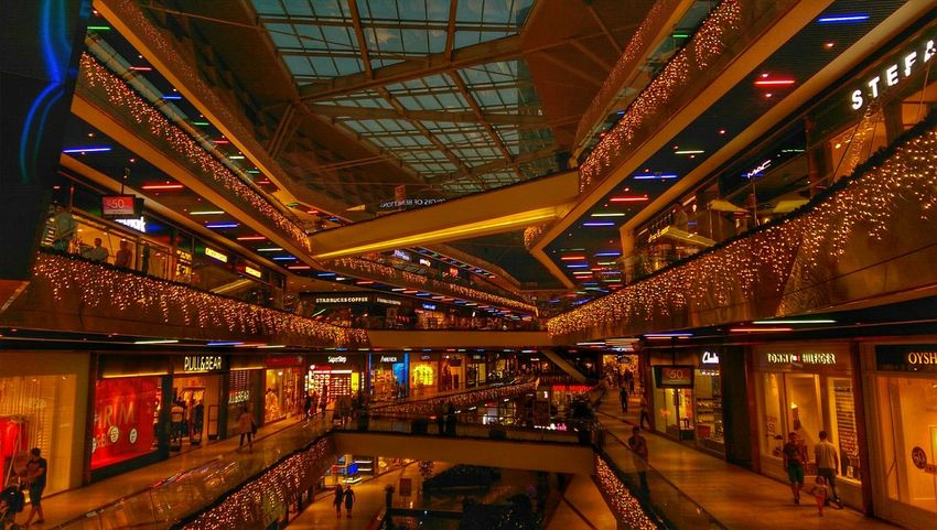 Buyaka Buyakaavm Shopping Mall Lights Avm Istanbul Turkey Istanbul City Istanbuldayasam