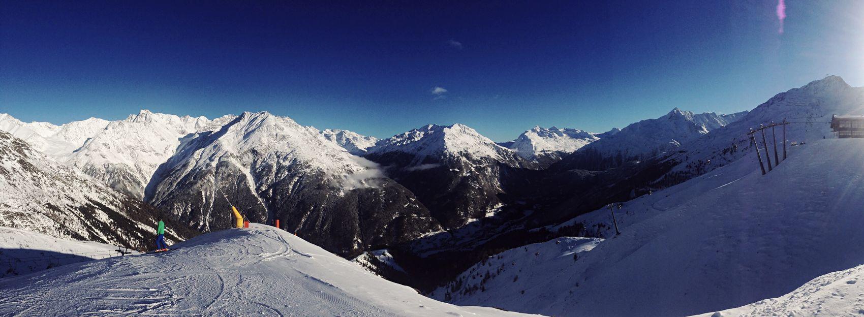 Soelden Snow Austria