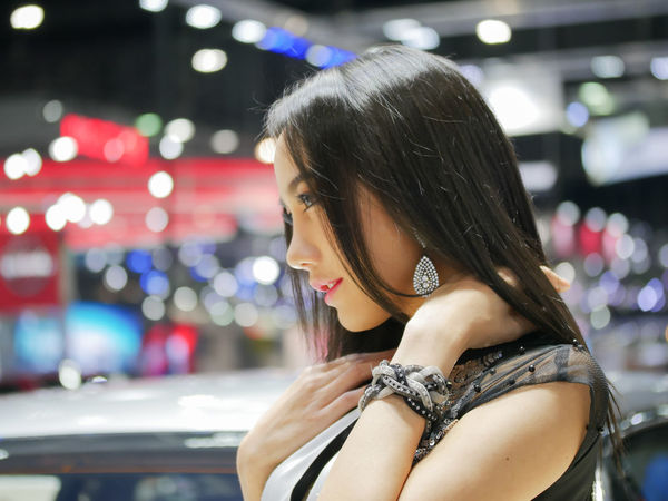 dec.3 2017 thailand motor expo 2017 impact challenger ASIA Motor Show Asian Girl Beautyful Girl Beautyful Woman Leisure Activity Lifestyles Motor Expo One Person Portrait Potrait Of Woman Pretty Pretty Girl Real People Rollroyce Young Adult Young Woman Young Women Young Women Style