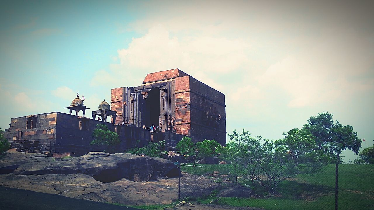 Amazing View Bhojpur_temple Pieceful Evening