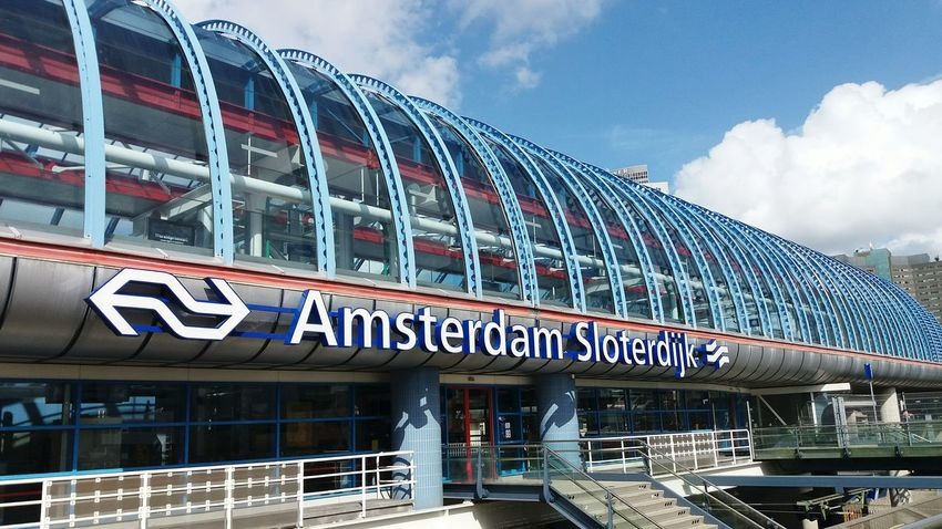 Amsterdam Ams Sloterdijk Architecture No People Outdoors City Day Station Urban Holland Train Station Train Stop Dutch Wisdom