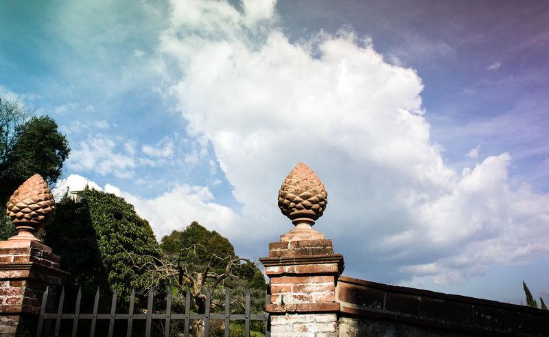 Architecture Cloud - Sky Clouds Gate Showcase March Sky Spring Tourism