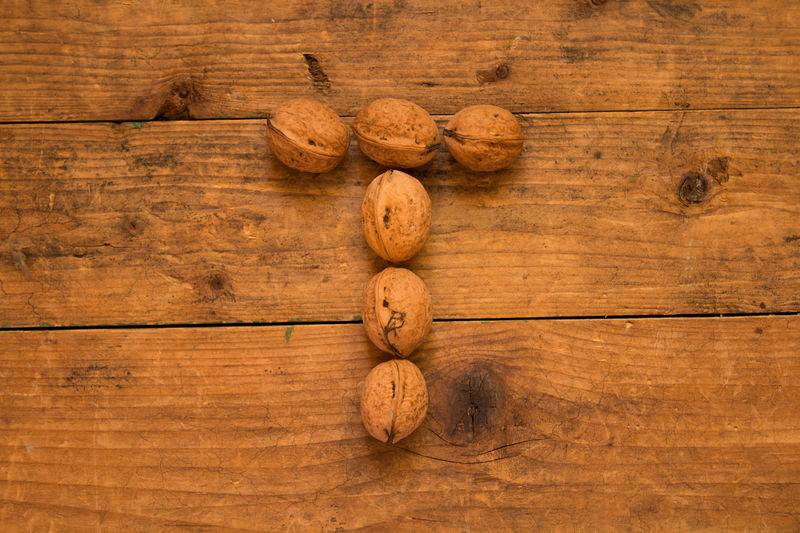 Backgrounds Brown Brown Background Close-up Copy Space Day Food Food And Drink Freshness Gourmet Healthy Eating High Angle View Indoors  No People Ready-to-eat Studio Shot Wood - Material