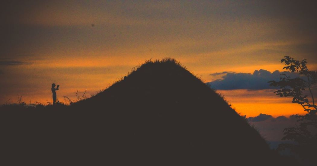 Sunset Travel Destinations Pyramid Architecture History Silhouette Triangle Shape Travel Built Structure Ancient Tourism Ancient Civilization Outdoors Scenics Building Exterior No People Sky Nature Tree Day EyeEm Gallery EyeEm Best Shots EyeEmNewHere Manila Philippines Lifestyles