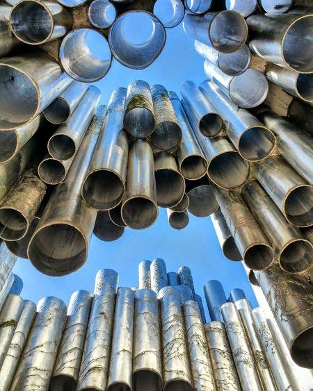 Helsinki, Finland Art Metalart Metalartwork Finland Helsinki Circles Tubes