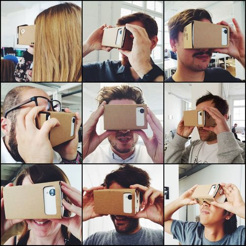 Seeing the future with Google Cardboard
