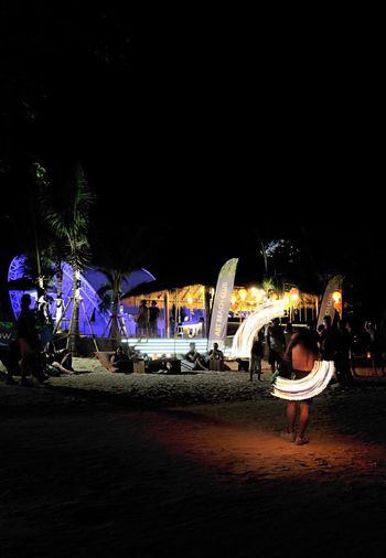 Uniqueness Night Illuminated Travel Destinations Tourism Leisure Activity Thailand Beach Outdoors Vacations People