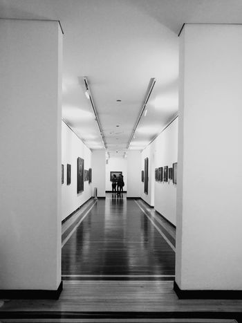 Silhouette Day Corridor Doorway One Person Museum People Watching People Close-up Scenics Blackandwhite