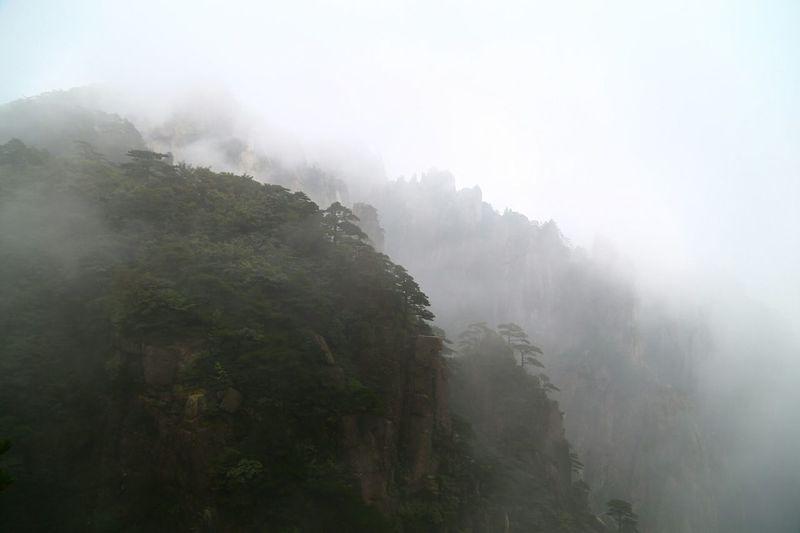 China Huangshan Mountains
