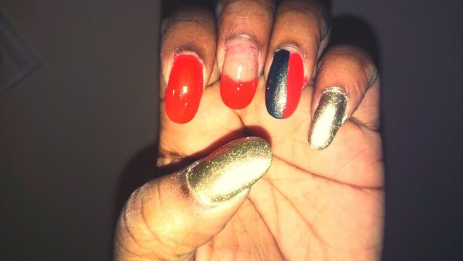 Did My Own Nails Tonight