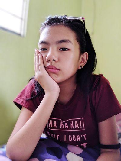 #lazysaturdaymownin #firsteyeemphoto FirstEyeEmPic #sadface #pixel Portrait