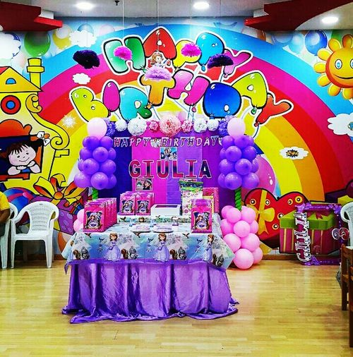 Happy 3rd Birthday Giulia EyeEm Food EyeEm Qatar Display Birthday Party Birthdaygirl EyeEm Gallery Multi Colored EyeEmBestPics Sofia The First FUN CITY City Center City Centre Giulia