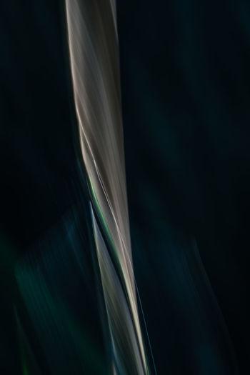 Close-up of light trails