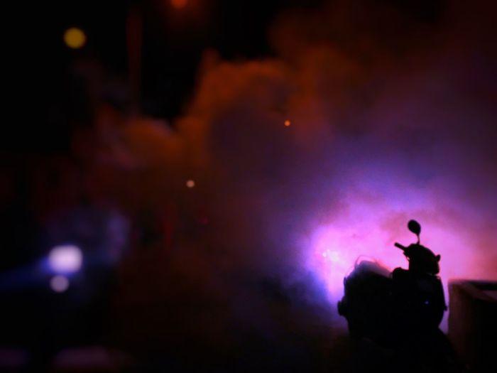 Random Edited Instant World Through Lens IPhone Photography Silhouette Night Millennial Pink