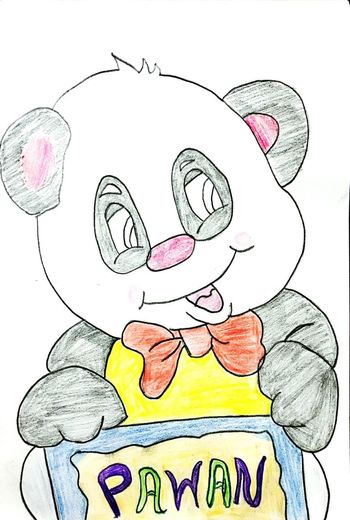 Pencil Drawing Sketch Doodle PANDA ♡♡ Pandashots Pandasketch Panda - Animal Pandas♥ Drawing Panda Drawing Pandabear Artistic Artist Painting Sketch Animal Animalsketch