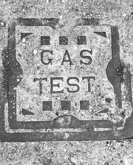 Gas test. No