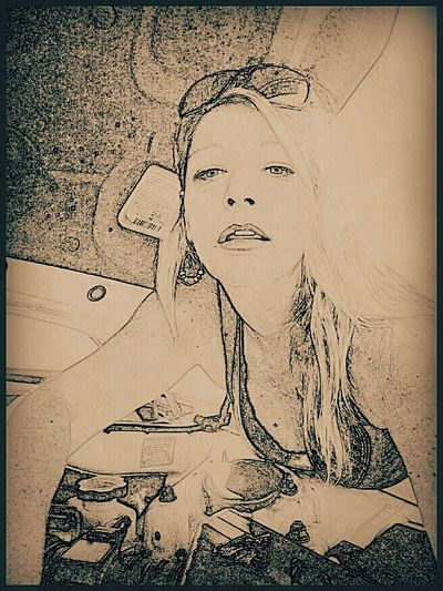 Portrait Of A Woman Portrait Drawing Female Mechanic Girls Working On Cars Women Over 50 Women Of EyeEm Women Mechanic Chicks Rock! Milf Mechanics Hot Mess Playing With Effects Photo Editing Photo Effects Fixing The Car Girls Fixing Cars Women Fixing Cars Showcase June Eyeem Trending My Point Of View EyeEm Week Popular TRENDING  New On Market EyeEm Gallery New On Eyeem