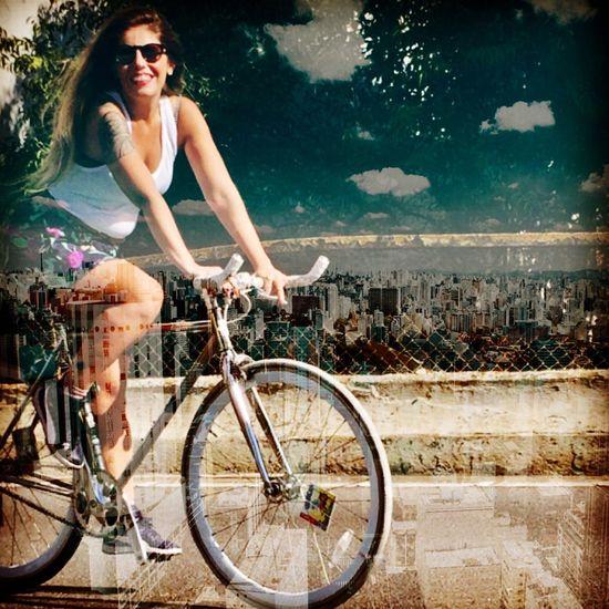 Run to liberty Fixedgearsp Fixedgearbrasil Fixiegirl Fixed Bike Speedbike :) Singlebike