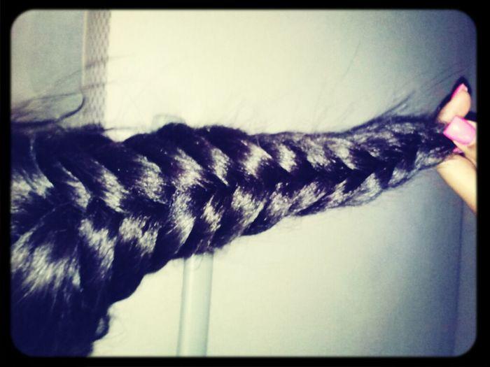 My Fishtail Braid!!
