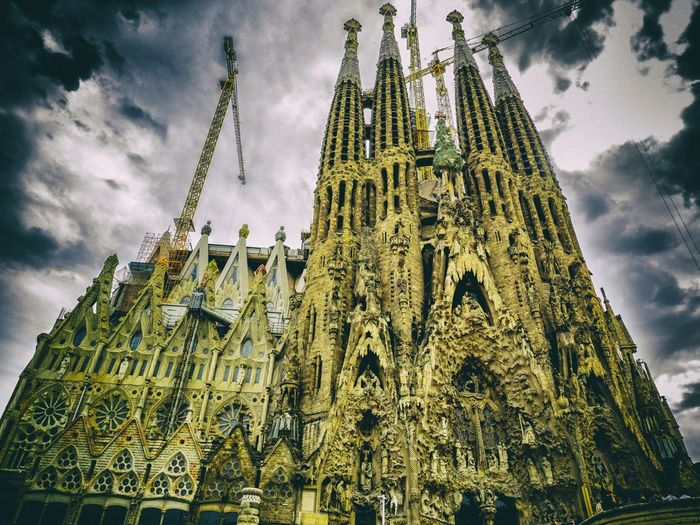 Architecture Architecture Barcelona Barcelona, Spain Building Exterior Built Structure Cathedral Church Gaudi Gaudi #barcelona Gaudi Barcelona Gaudì Architecture Work History Place Of Worship Religion Sagrada Familia SagradadeFamilia Sagradafamilia Sagradafamiliabarcelona Sagradafamiliachurch Spirituality