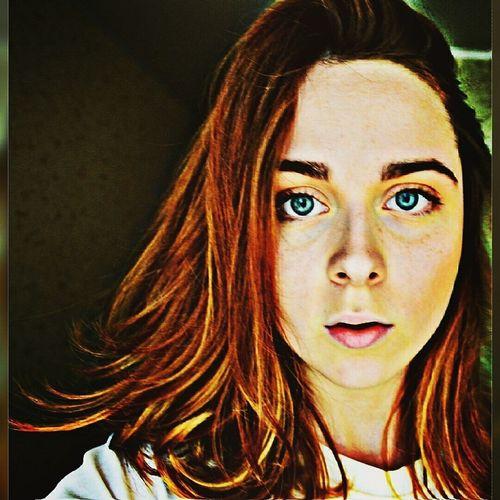 That's Me Hello World Redhead Nature конопля лето хай