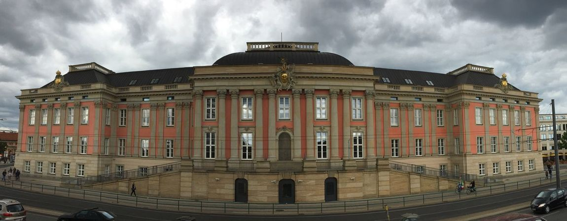 Landtag of Brandenburg in #Potsdam. Panorama