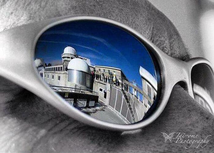 Selfie - photo - montagne - lunette - Pic du Midi - France - Pic Du Midi