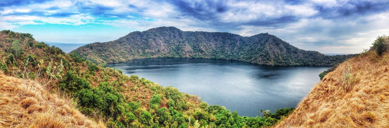Panorama by Fotojim  of the salty water lake. Beautiful Surroundings Beautiful Nature