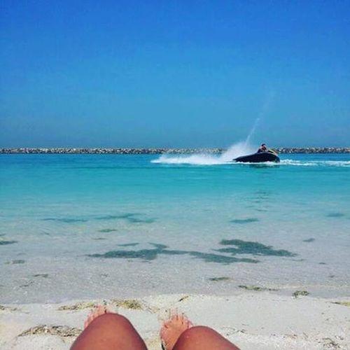 Good morning 🌞 Sabahalkhair Goodmorning Abudhabi LuLu Ocean Beach Jetski Fun Friends Goodlife