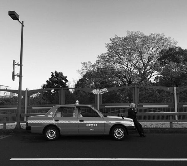 Chilling out Otosan☺ Transportation The Street Photographer - 2017 EyeEm Awards Tree Land Vehicle Car Fire Engine Day Police Force Outdoors Only Men Adult Firefighter People Adults Only One Man Only Politics And Government Sky MyPhotography Photography Streetphotography Blackandwhite Mybnw Monochrome Bnw Standing