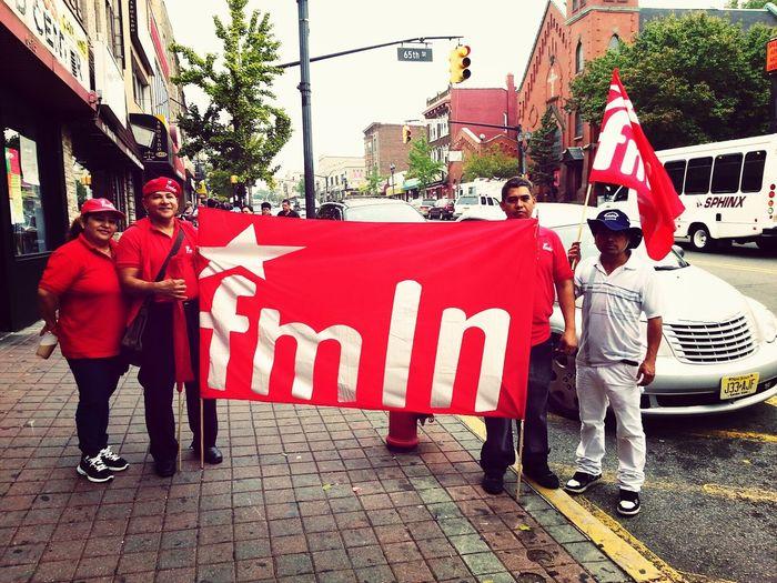 FMLN El Salvador 2013 Making History Made In El Salvador