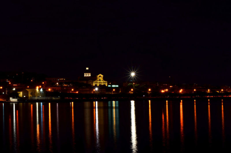 Cagliari Urban City Cagliari, Sardinia Cagliari, Su Siccu City Lights By Night Built Structure Cagliari By Night City Illuminated Light Light - Natural Phenomenon Lighting Equipment Night Reflection Sardegna Sardinia Street Light Waterfront