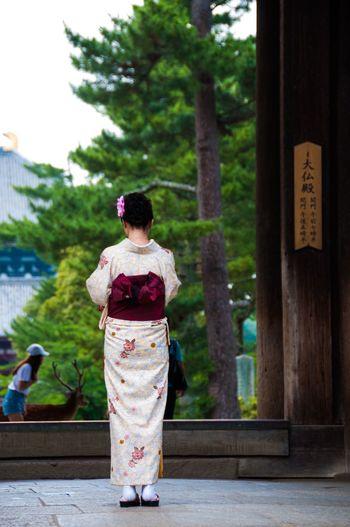 Feel The Journey Kimono Temple Door Gate Wood Praying Pray Ultimate Japan