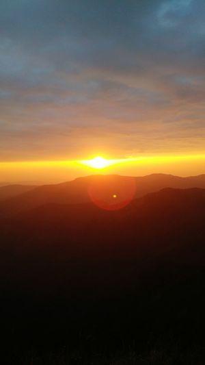 Sunset Sunset Sun Scenics Nature Orange Color Beauty In Nature Dramatic Sky Tranquil Scene Horizon First Eyeem Photo