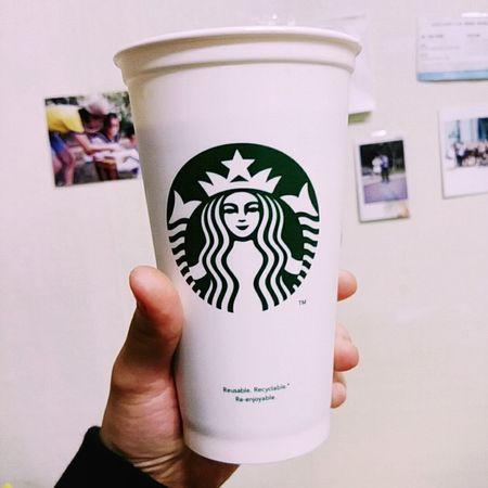 Starbucks Starbucks Coffee Tumbler First Eyeem Photo