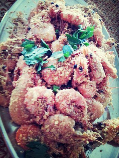 Udang Nestum Foodporn Foodphotography Seafoods Nyummy
