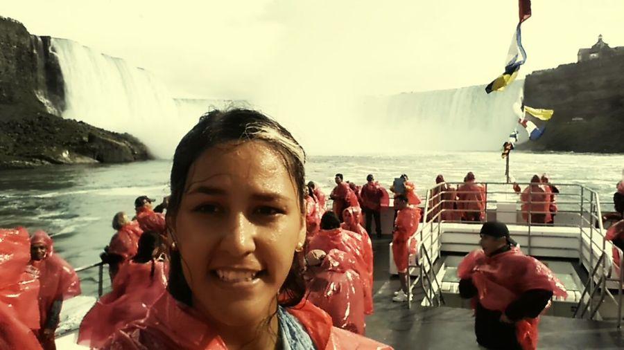 <3 el viaje de mi vida Canadiannature OnTheBout Waterfalls Cascadas CataratasDelNiagara
