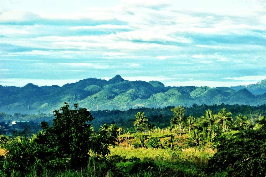 Hills View Landscape_photography Landscape_Collection Eyeem Philippines Outdoor Photography Outdoors Nikon Nikonphotography Nature Nature_collection Nature Photography Breeze Mountain Sky Landscape Mountain Range Greenery Countryside Green Grassland