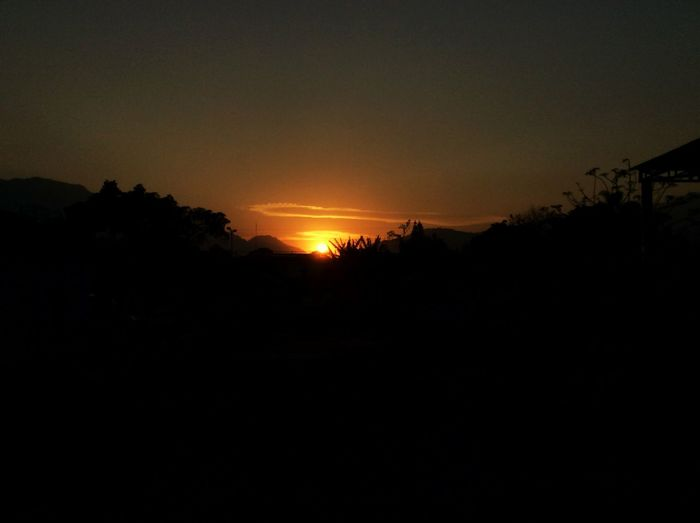 Atardecer Sunset Ipadphotography Ipadair Orangehour Landscape_Collection