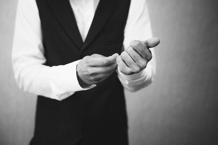 Blackandwhite Monochrome Photography Best EyeEm Shot Human Hand Men Standing Midsection Decisions Close-up