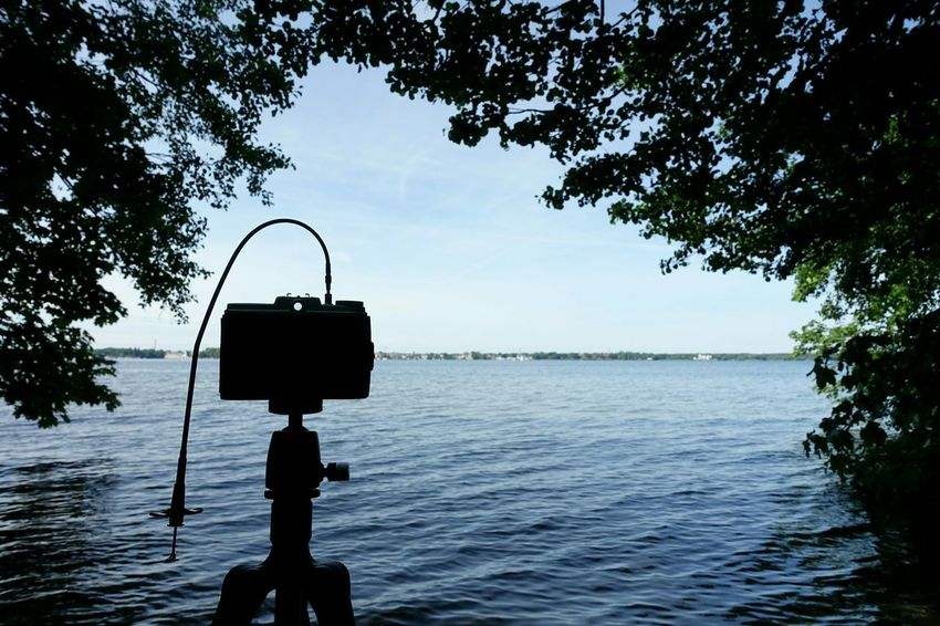 Taking Photos on a Beautiful Day with Pinhole Camera at Lovely Weather... ;) Analogue Photography Quality Time Nature Lake
